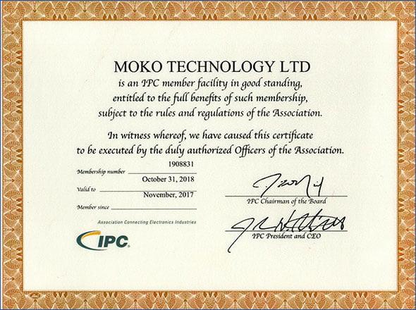 Certificado IPC