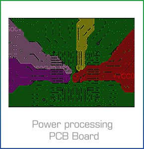 Power processing PCB Board