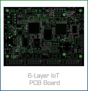 6-Layer IoT PCB Board