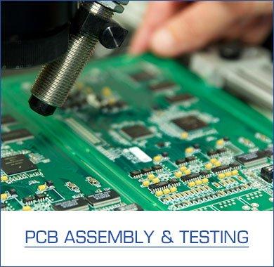 PCB-assemblage & testen