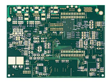 Blind-Via PCB Immersion Gold a 4 strati