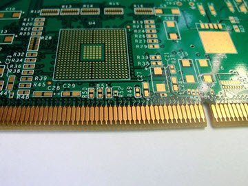 Gold-Finger PCB 8-laags fabricage