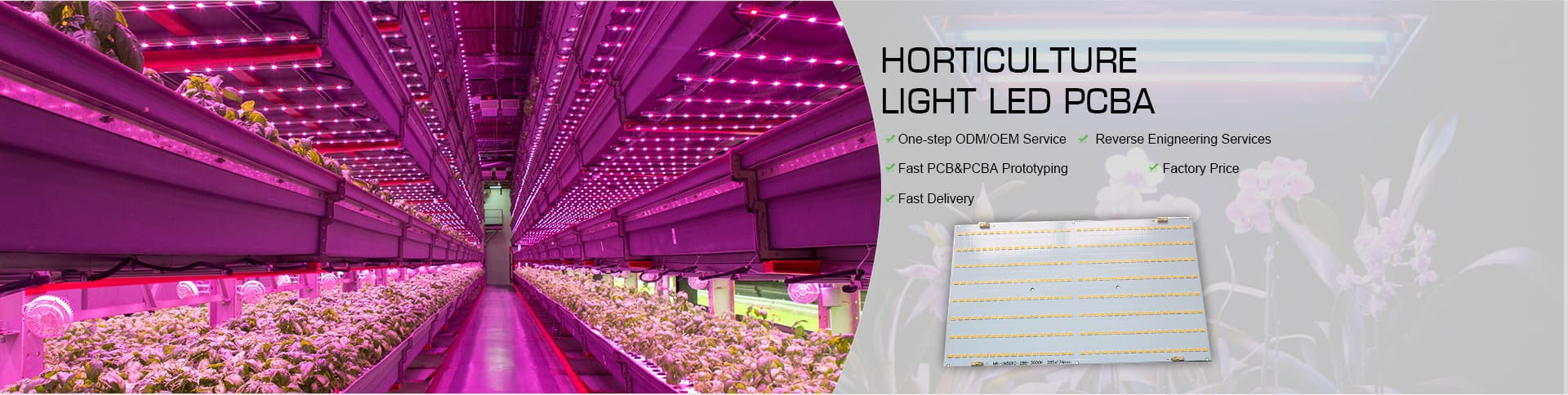 Horticulture Light LED PCBA