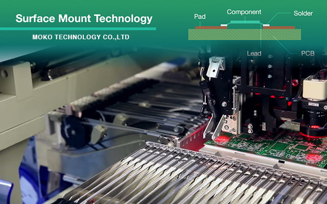 Surface mount technology MOKO