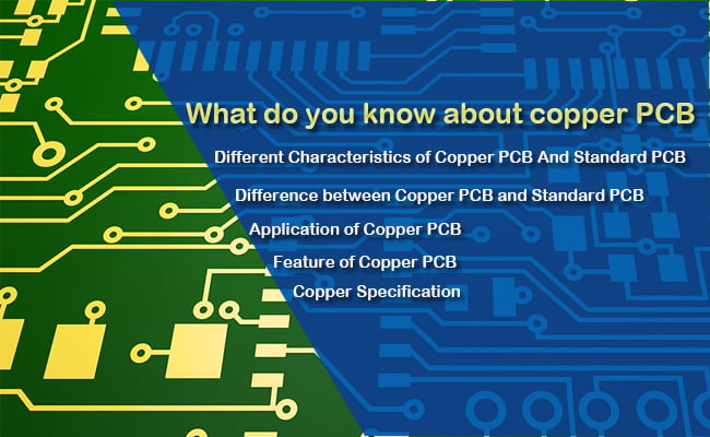 What do you know about copper pcb