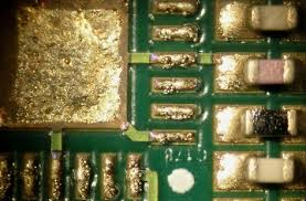 Solder Splashes on pcb reflow soldering