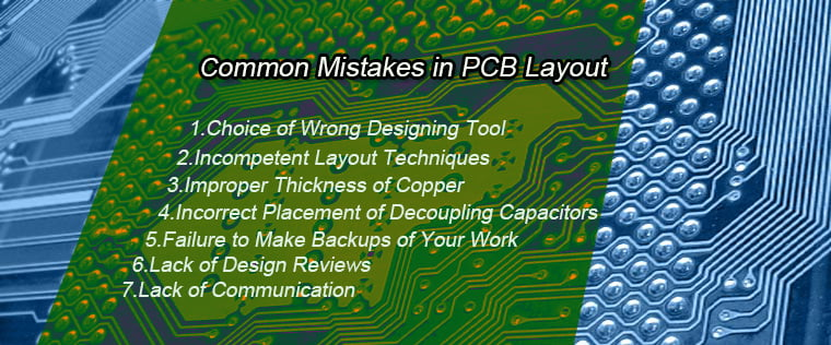 Some Common Mistakes to Avoid in PCB Layout