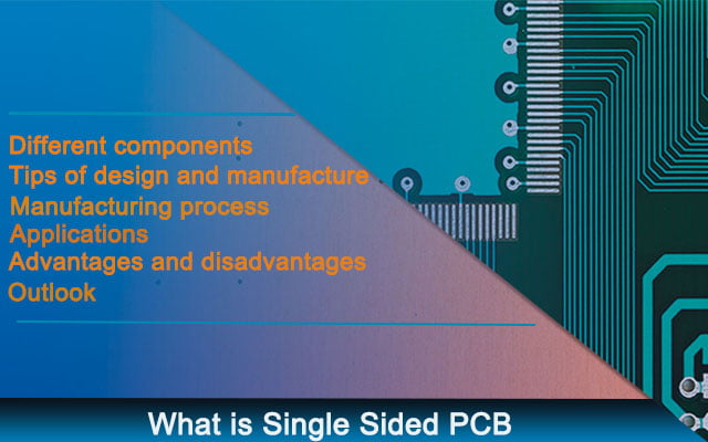 What is Single Sided PCB
