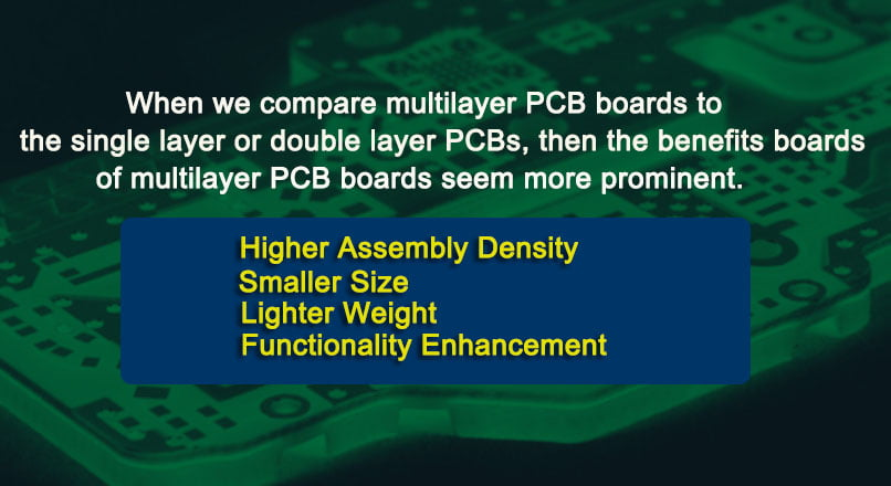 Multilayer PCB boards are better than their alternatives