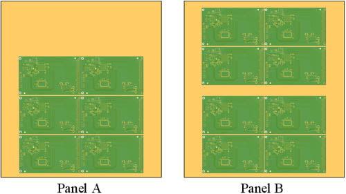 pcb panel utilization