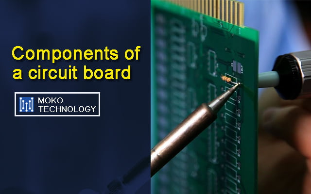 components of a circuit board