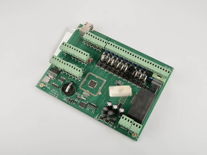 Controller prototype pcb assembly