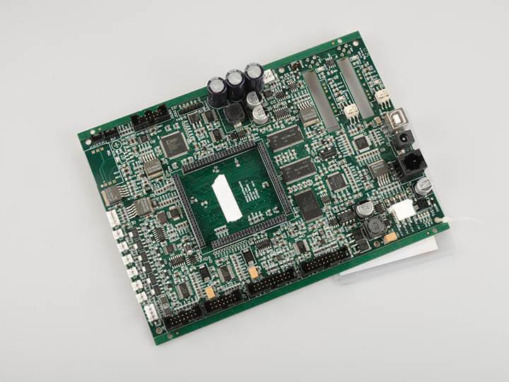 HDI electronic board assembly