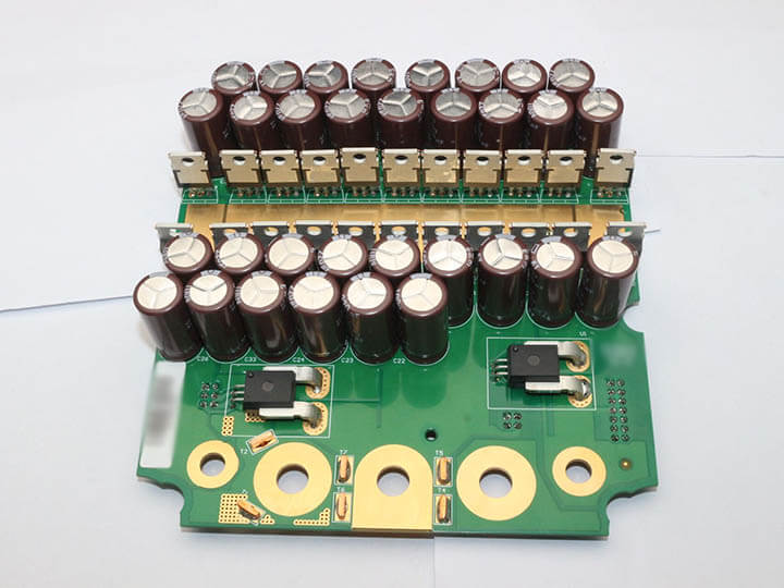 Conjunto de PCB THT Heavy Copper
