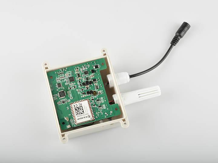 Montagem do sensor de umidade e temperatura