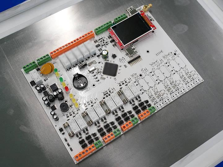 placa de pcb de aluminio detector de humo